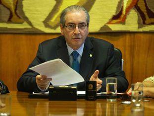 Eduardo Cunha no último dia 15.