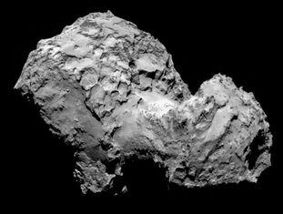 Imagen do cometa 67P/Churyumov–Gerasimenko.