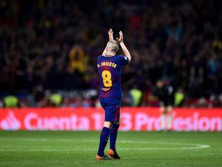 Iniesta despede-se na Copa do Rei