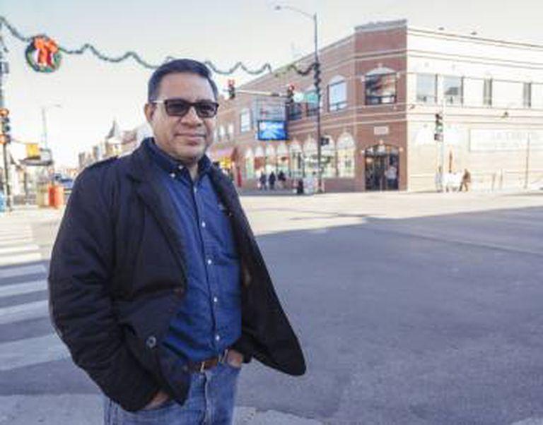 José Humberto Mora, ativista de Chicago.
