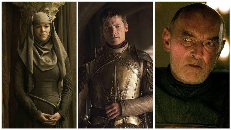 Septa Unella, Jaime Lannister e Randyll Tarly.