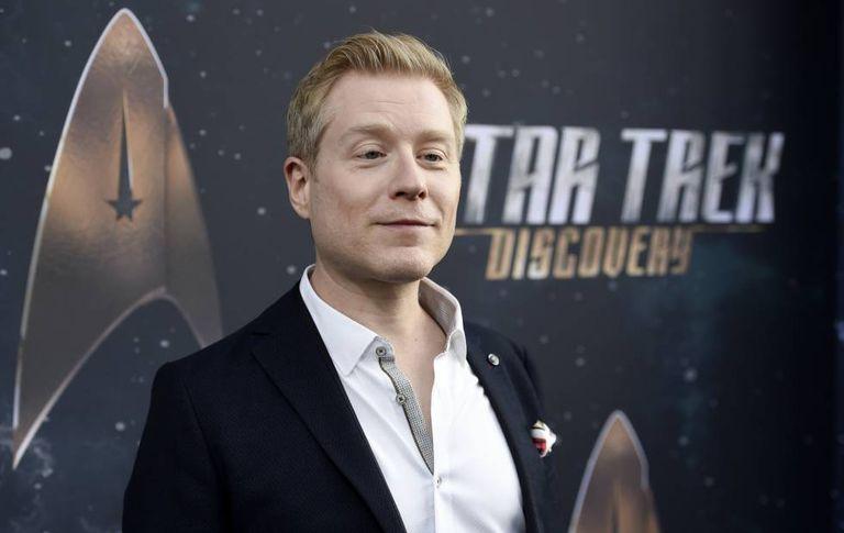 Anthony Rapp na estreia da série de televisão 'Star Trek: Discovery'.