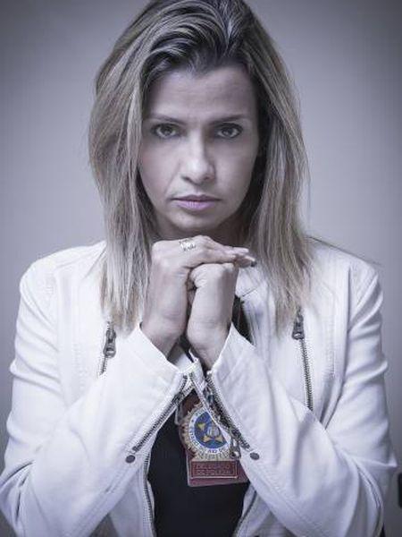 A delegada do caso do estupro coletivo no Rio, Cristiana Bento.
