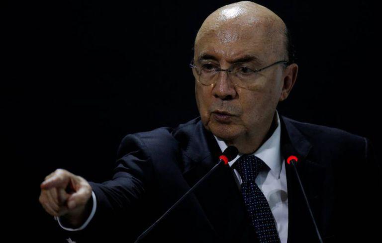 Ministro da Fazenda, Henrique Meirelles.