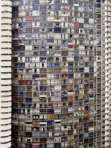 Edifício Copan, de Oscar Niemeyer, em São Paulo (Brasil).