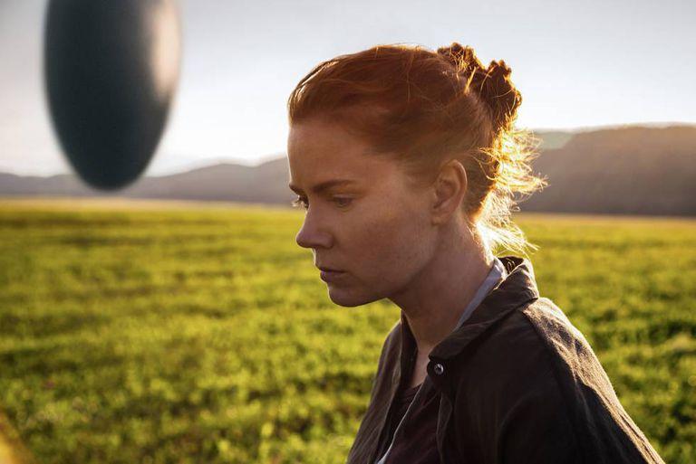 Amy Adams, em uma cena de 'A chegada'.