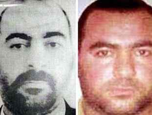 As duas únicas fotos de Abu Baker al Bagdadi: a primeira e mais recente difundida pelas autoridades iraquianas; a segunda, dos arquivos do Departamento de Estado dos EUA.