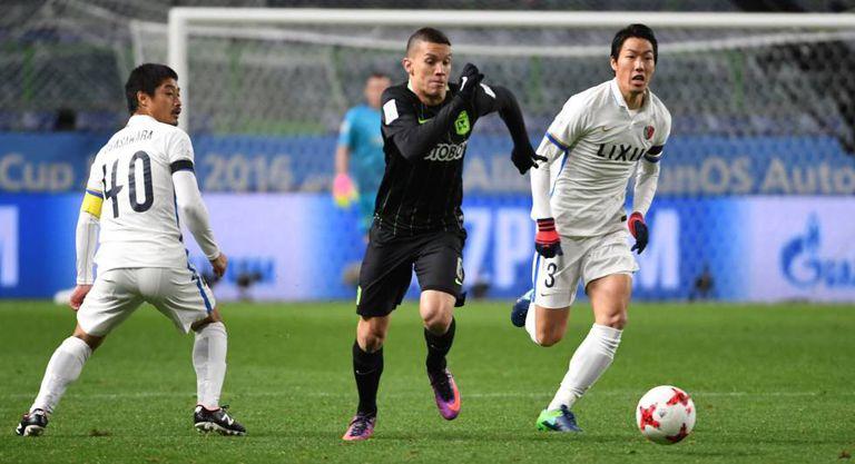 Atlético e Kashima jogaram em Osaka.
