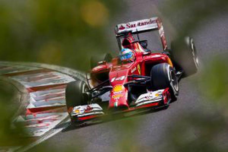 Fernando Alonso, em Hungaroring.