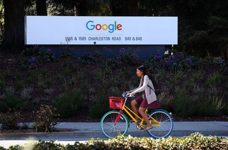 A sede do Google em Mountain View, Califórnia.
