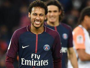 Neymar, durante uma partida desta temporada.