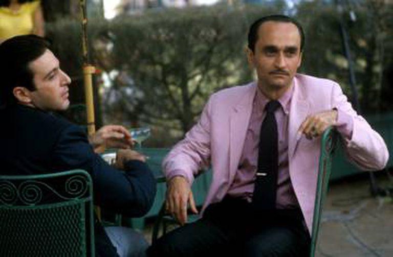 John Cazale interpretando Fredo, o mais frágil dos irmãos Corleone, em 'O Poderoso Chefão' (1974).