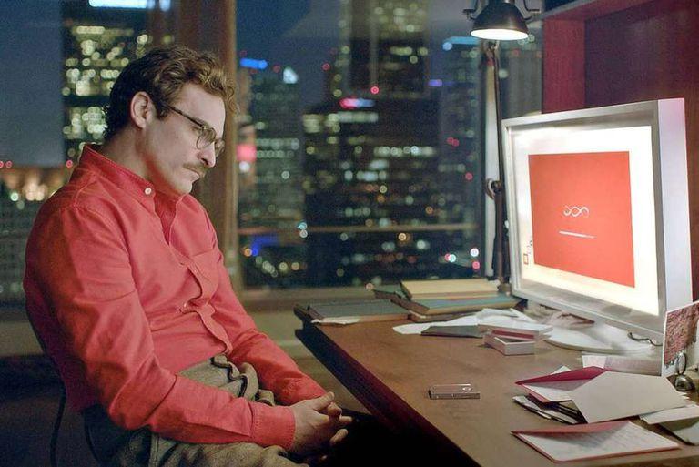 O ator Joaquin Phoenix, em um fotograma do filme 'Her' (2013), de Spike Jonze.
