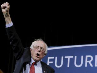 Bernie Sanders, em Henderson (Nevada), no dia 19.