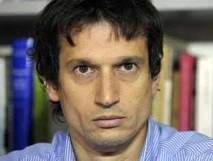 Diego Lagomarsino, durante seu pronunciamento.