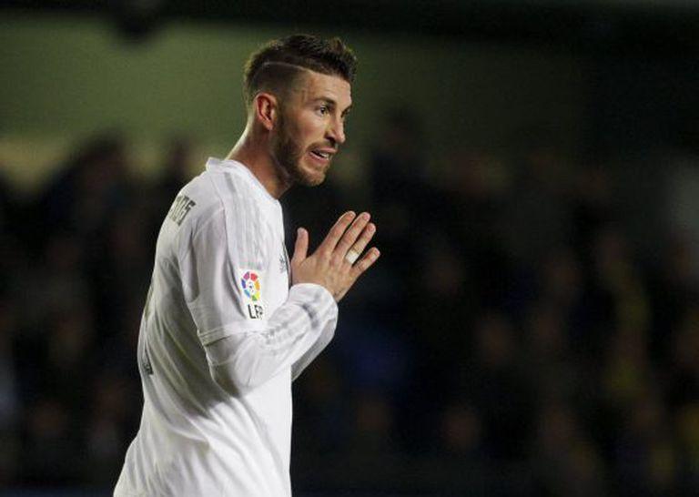 Sergio Ramos disparou contra o colega.