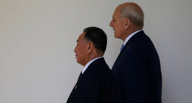 Emissário norte-coreano na Casa Branca