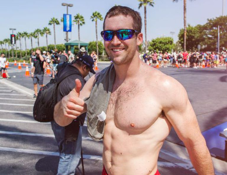 Ben Smith, ganhador do Reebok Crossfit Games 2015.