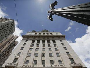 O prédio da Prefeitura, no centro de São Paulo.