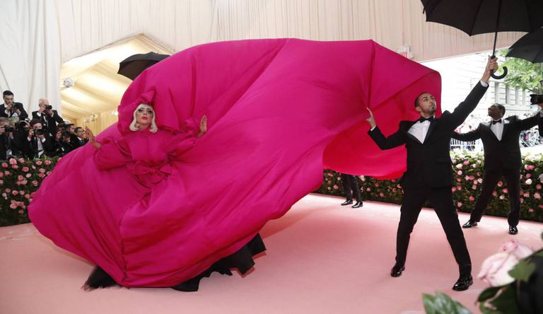 Lady Gaga, no evento de gala do Museu Metropolitano de Arte (Met) de Nova York.