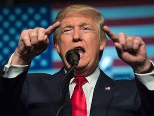 Trump, na quinta-feira em Hershey (Pensilvânia).