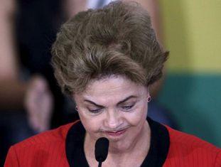 Presidente Dilma Rousseff em evento no início do mês.