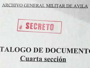 Um dos documentos do arquivo de Ávila.