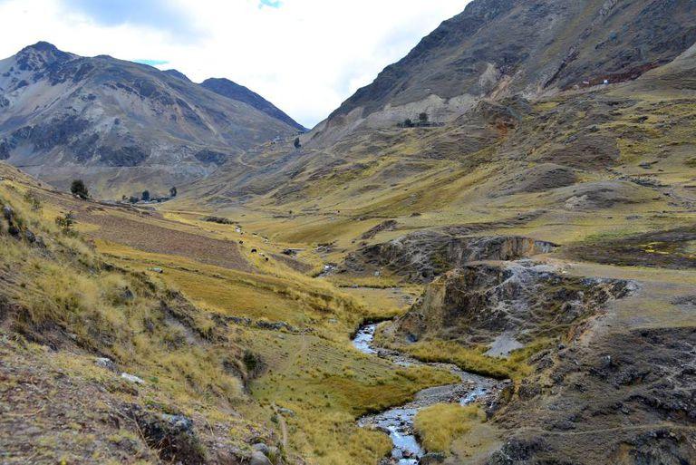 As trilhas da Mountain Lodges possibilitam que se caminhe horas a fio pelo Vale Sagrado sem cruzar com nenhum turista