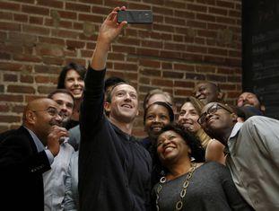 O líder do Facebook, Mark Zuckerberg, em um evento recente.