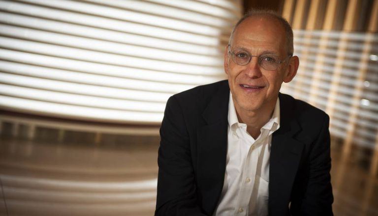 O oncologista Ezekiel Emanuel em Barcelona.