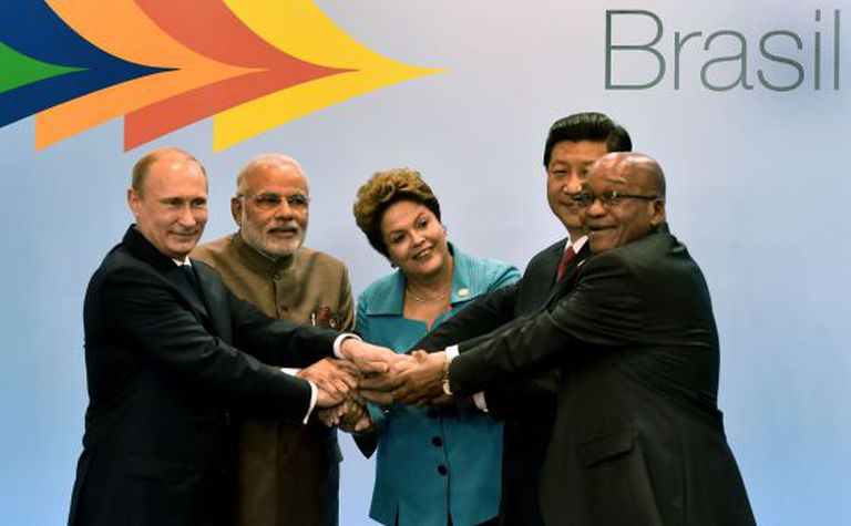 Os mandatários dos BRICS, em julho, em Fortaleza.