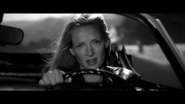 Uma Thurman no filme 'Kill Bill', de Quentin Tarantino.