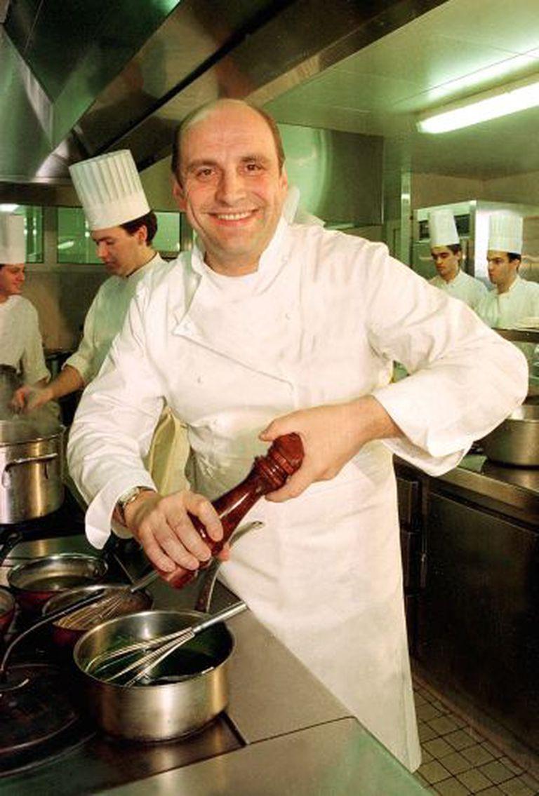 O chef francês Bernard Loiseau.