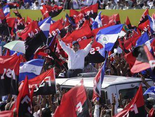 O presidente da Nicarágua, Daniel Ortega, nesta sexta-feira em Manágua.