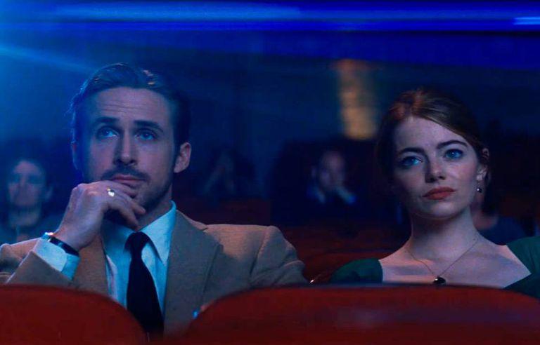 Ryan Gosling e Emma Stone, em 'La La Land', um dos favoritos ao Oscar 2017.