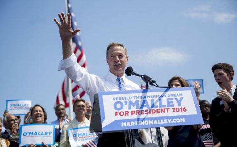 O exgoberandor de Maryland Ou'Malley