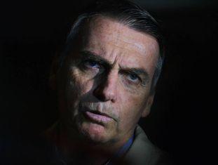 Bolsonaro em uma imagem de setembro de 2018.