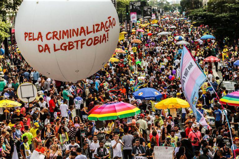 20ª edição da Parada do Orgulho LGBT de São Paulo