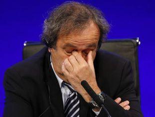 Michel Platini, em 2013.