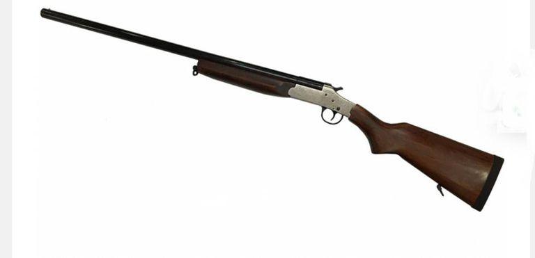 Modelo de arma semelhante ao que matou a criança no MT.