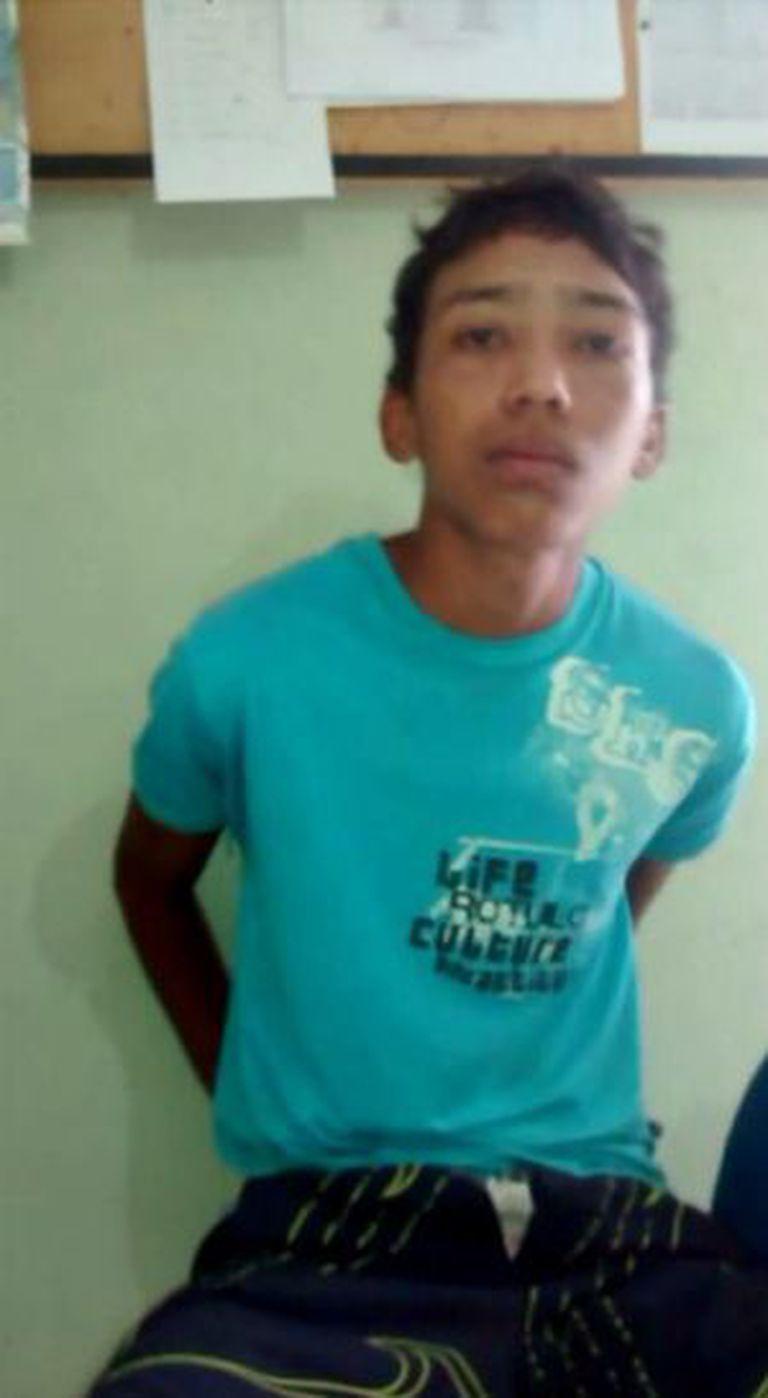 Gleison Silva, assassinado em uma cela do CEM.