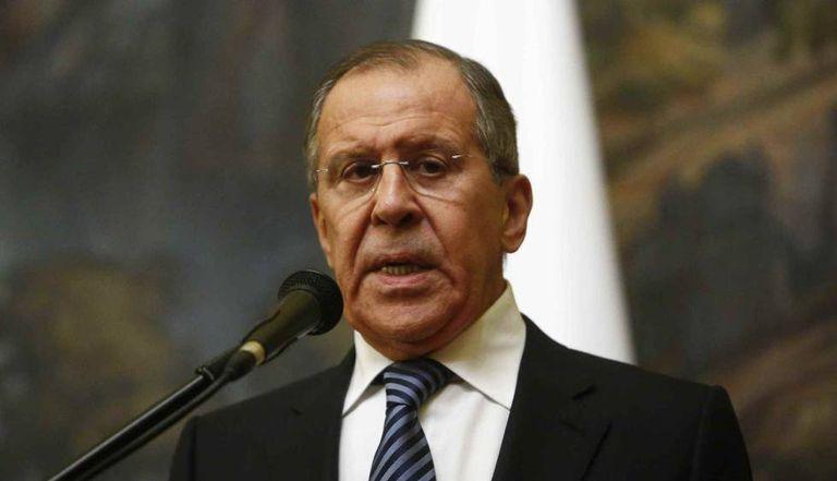 O chanceler russo, Serguei Lavrov, nesta quinta-feira em Moscou.