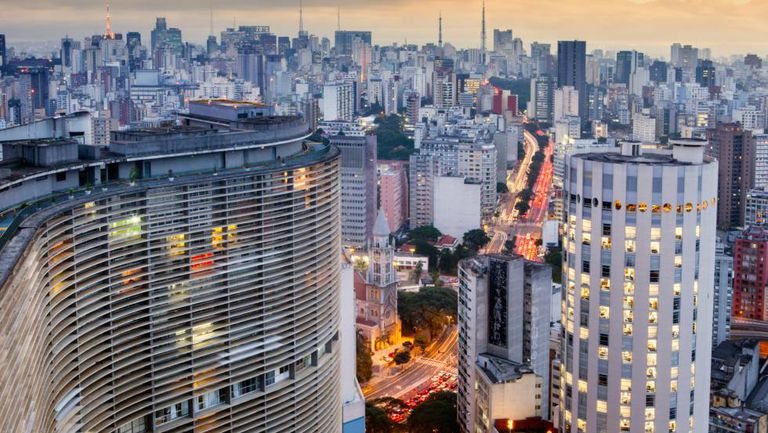 São Paulo a partir do Copan