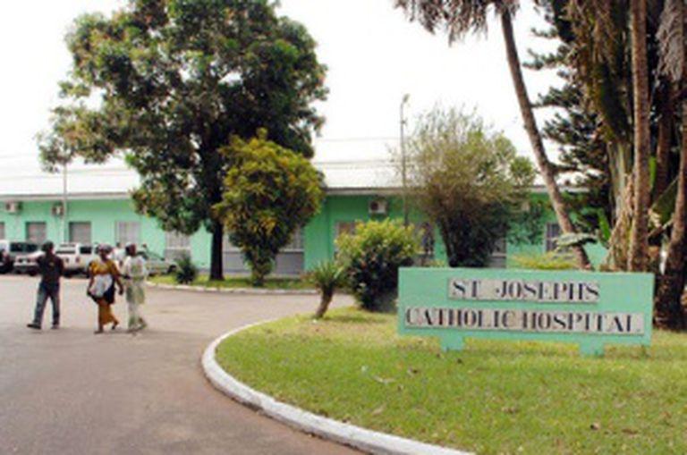 O hospital San José, agora fechado.