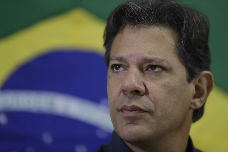Fernando Haddad, candidato à Presidência.