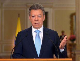 Juan Manuel Santos, atual presidente da Colômbia, confirma que vai concorrer ao segundo mandato