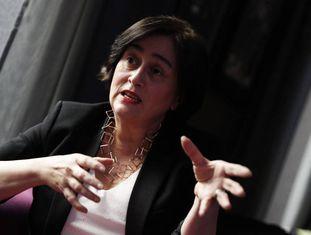 Paloma Llaneza, advogada e autora de 'Datanomics', durante a entrevista.
