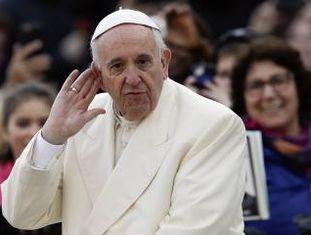 O papa Francisco no Vaticano, no último dia 9.
