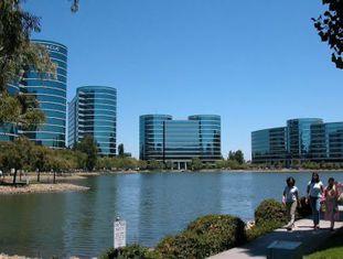 Sede central da Oracle no Vale do Silício, na Califórnia.