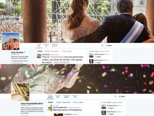 Conta de Twitter da Casa Rosada.